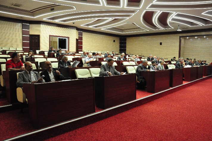 İl Genel Meclisine 'imla' dersi