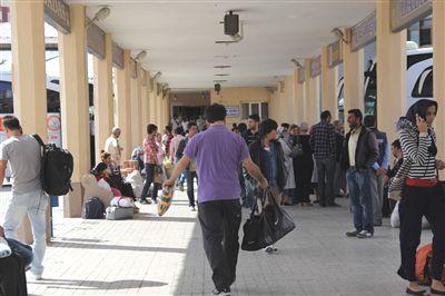 Erzurum'a öğrenci akını başladı
