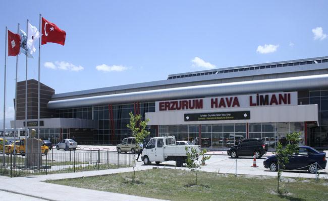 Erzurum'a 9 ayda 5 bin 580 uçuş