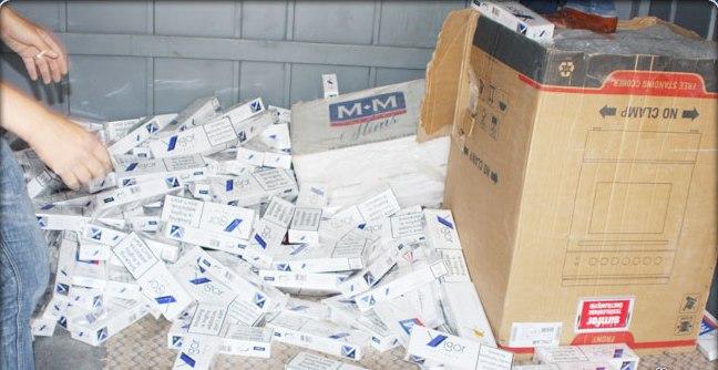 84 bin paket kaçak sigara yakalandı