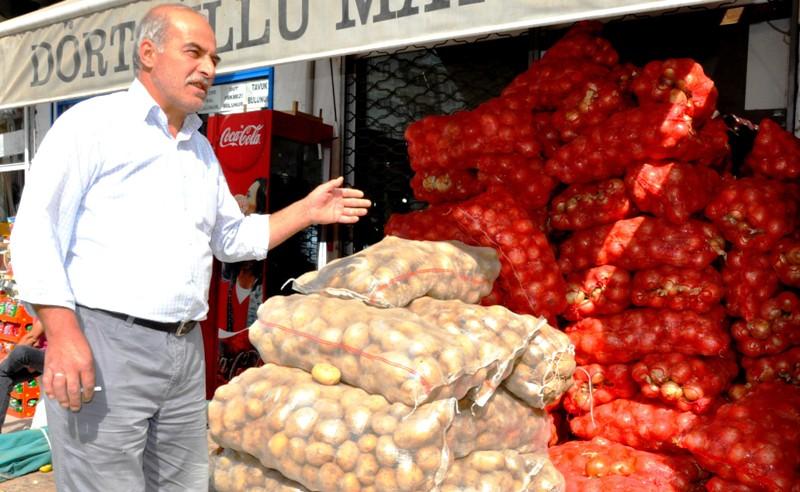 Patates, soğan satışları arttı