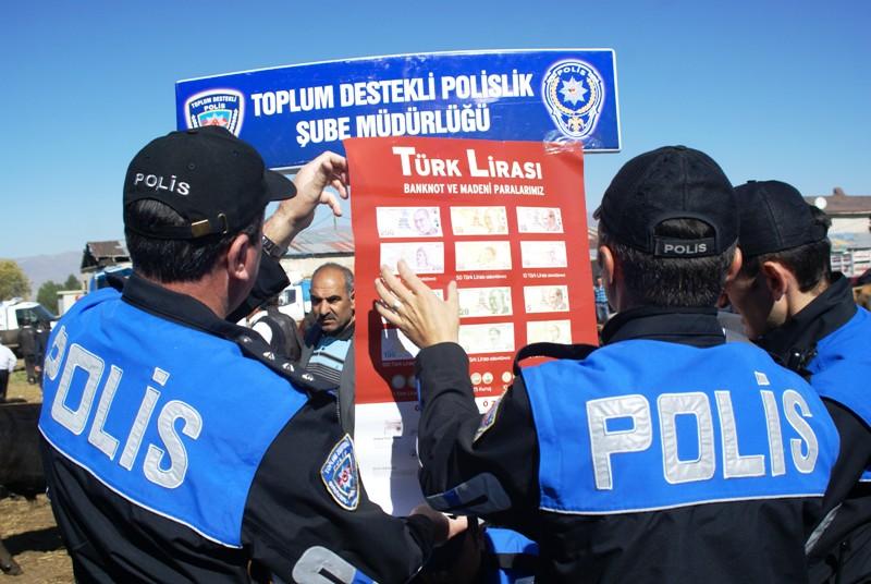 Erzurum polisinden sahte para uyarısı
