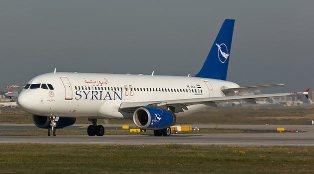Suriye uçağı Esenboğa'da