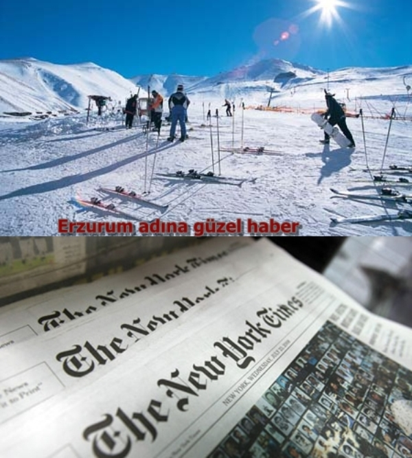 Palandöken, New York Times Gazetesi'nde