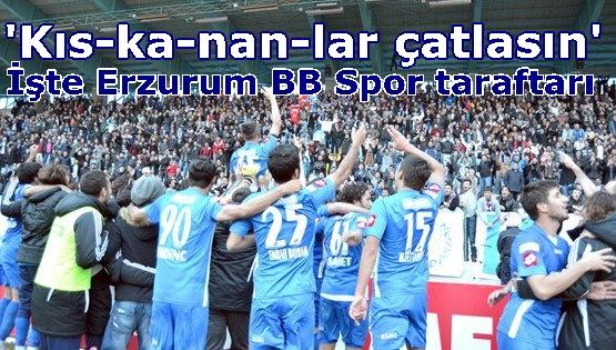 Erzurum BB Spor'a taraftar desteği çığ gibi büyüyor