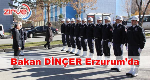 Milli Eğitim Bakanı Erzurum'da !