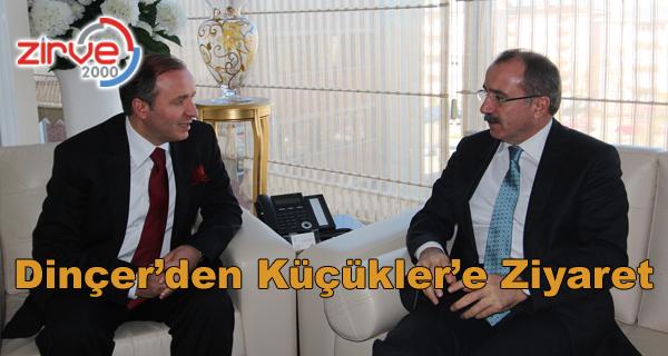 Başkan Küçükler Erzurum Semaveri Hediye Etti…