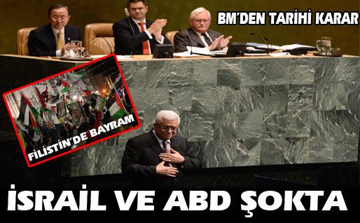 BM Filistin'e sahip çıktı…