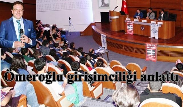 Öğrenciler konferansa büyük ilgi gösterdi