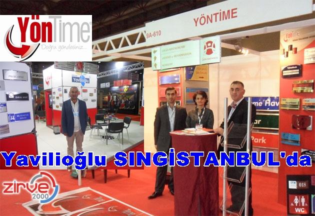Yavilioğlu SINGİSTANBUL'da Erzurum'u temsil ediyor