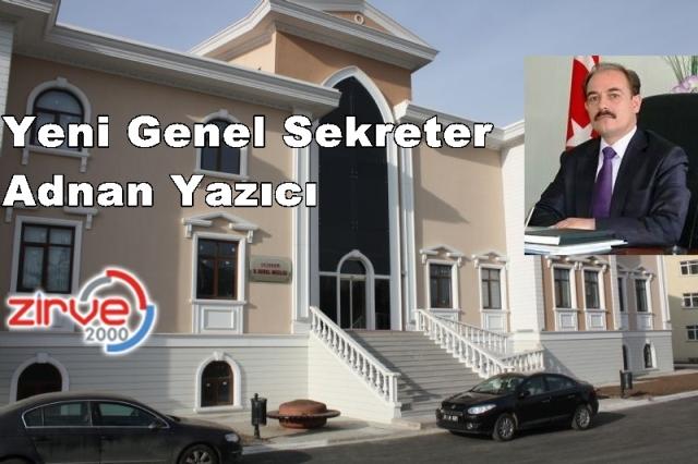 Özel İdareye Erzurumlu bürokrat…