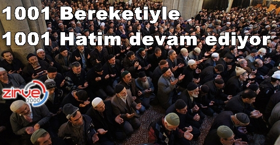 Duası 18 Ocak 2013'te…