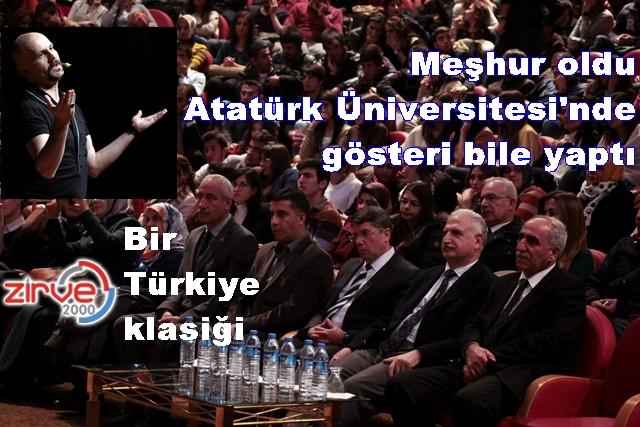 Atalay Demirci Erzurum'da…
