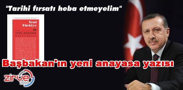 Yeni Türkiye Dergisi'ne yazdı