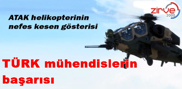 İlk Türk helikopteri