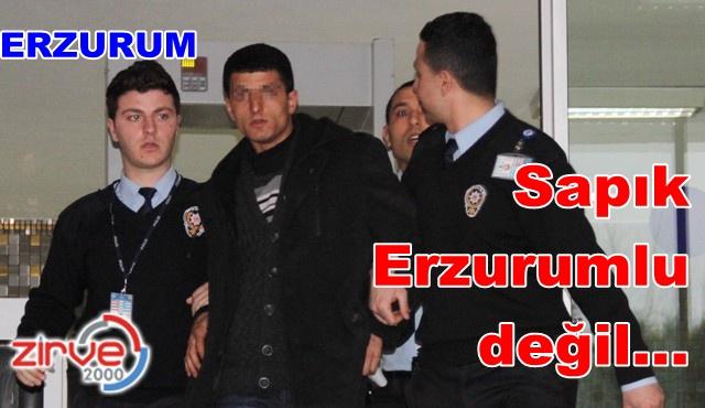 Erzurum'da askerlik yapıyormuş