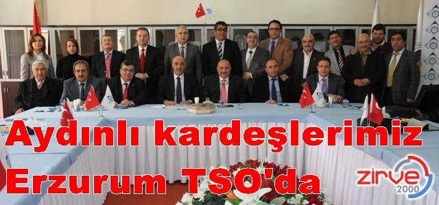 Erzurum TSO ile Aydın TO kardeş olmuştu