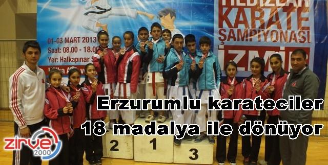 Erzurumlu karatecilerden büyük başarı