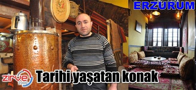 Erzurum tarihi konakları gün yüzüne çıkıyor
