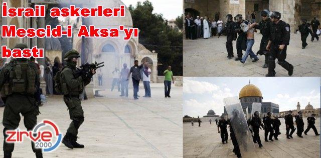 Filistinliler İsrail askerleriyle çatıştı