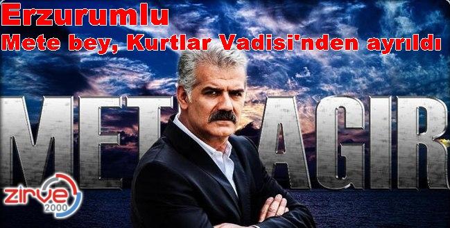 Erzurumlu aktör ilgiyle izleniyordu
