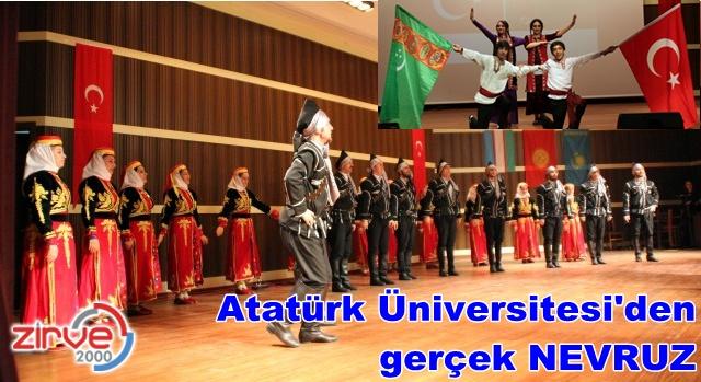 Atatürk Üniversitesi'nden alternatif Nevruz