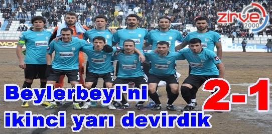 Erzurum Büyükşehir Beylerbeyi'ni yıktı