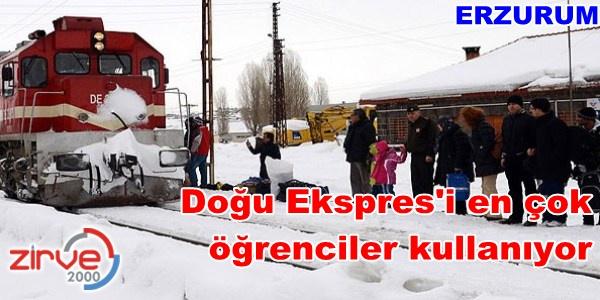 2012'de Erzurum'dan 31 bin kişi yolculuk yaptı