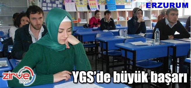 Erzurum YGS'de 23. sırada