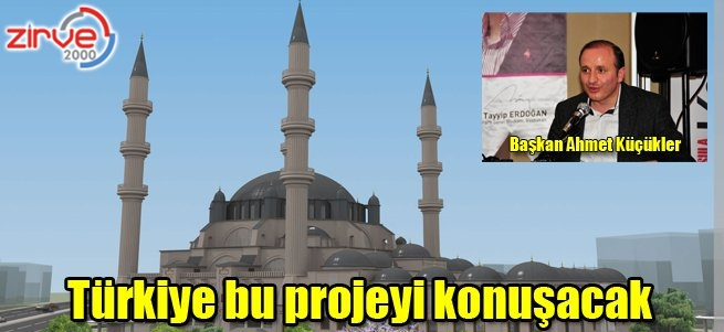 Serhat Camii yapılacak…