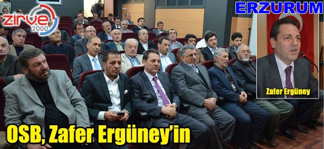 Zafer, Ergüney'in…