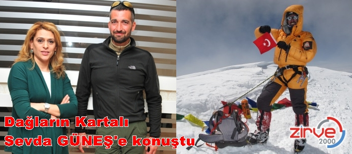 İki kez Everest e çıktı