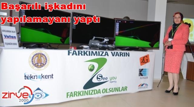 Erzurum'da örnek bir işkadını