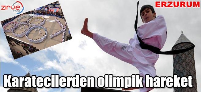 Karatecilerin kalbi olimpiyatlar için attı