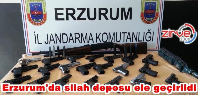 20 adet ruhsatsız tabanca ele geçirildi