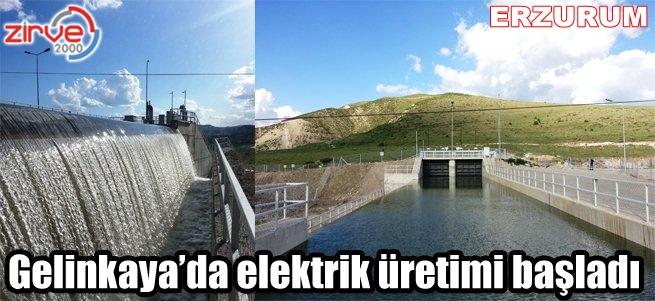 Erzurum elektrik üretiyor