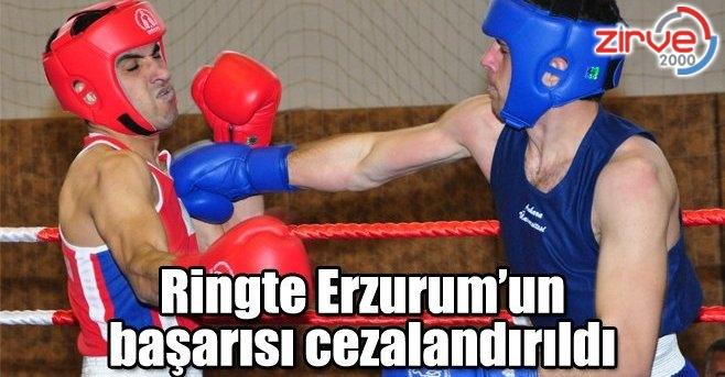 Erzurum'un başarısı baltalanmıştır
