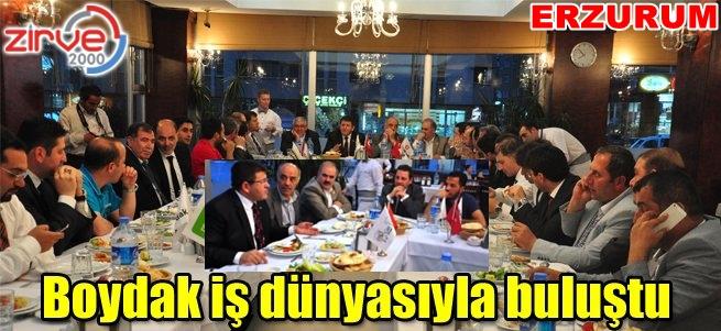Erzurum'a yatırım yapacak
