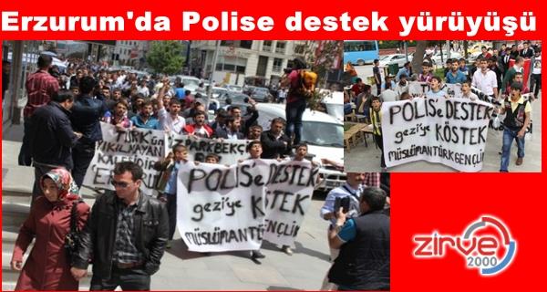 """""""Polise destek, geziye köstek"""""""