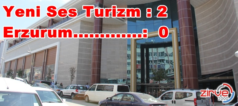 Erzurumlu firmalar girmedi