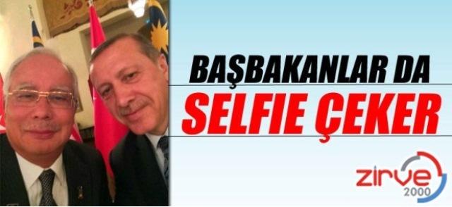 Erdoğan selfiesi