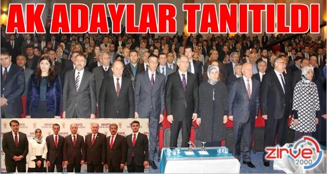 Bir tanıtımda Erzurum'da…