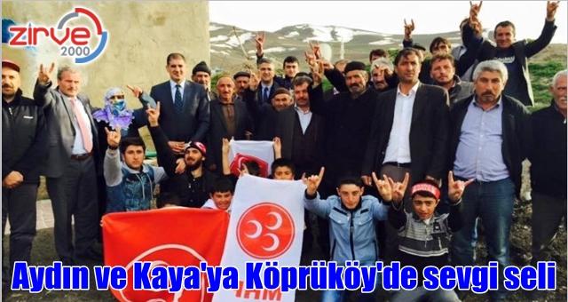 Köprüköy'de MHP rüzgarı
