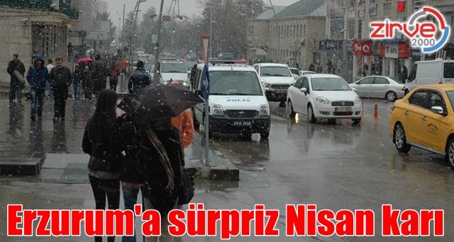 Yağmur beklerken kar yağdı