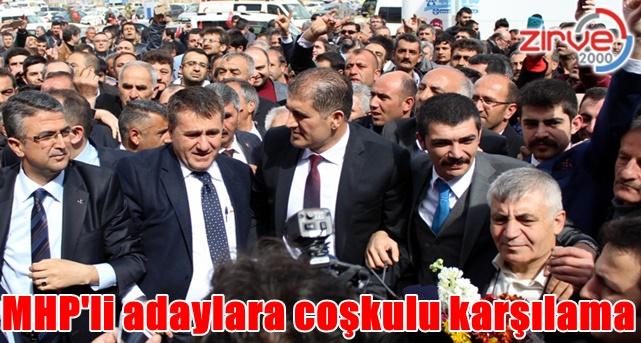 MHP'li adaylar Erzurum'da…