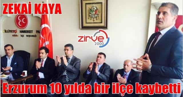Erzurum kan kaybediyor