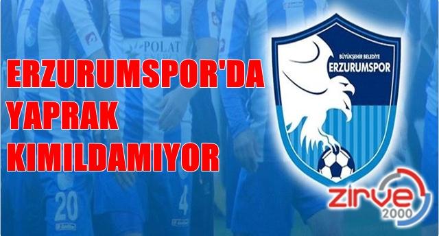 Erzurumspor'da sessizlik sürüyor…