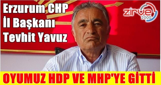 Erzurum kaybetti…