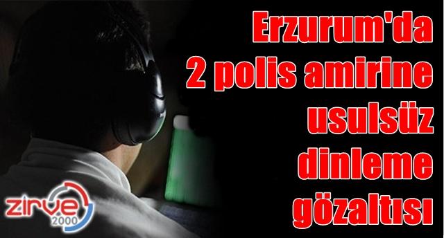 Erzurum Adliye Sarayı önünde gözaltına alındılar