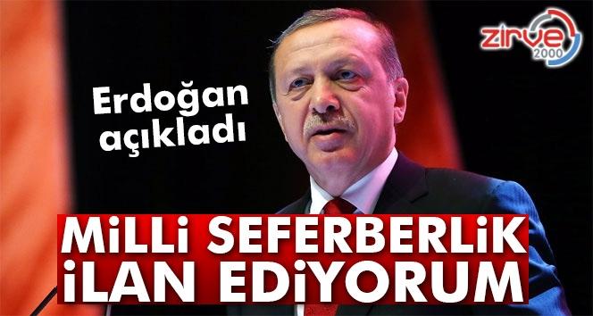 Erdoğan açıkladı…